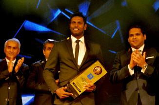 Mathews won four major awards