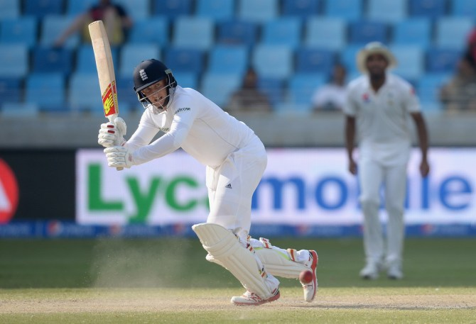 Root scored his 12th half-century of the year, which is the most by an Englishman in Test history