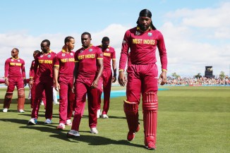 This is the first time the West Indies have failed to qualify for the Champions Trophy