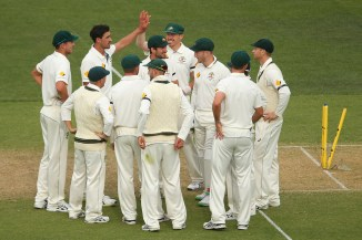 Australia bowled New Zealand out for 202