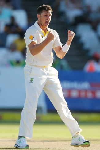 Pattinson's last Test for Australia came against South Africa in March 2014