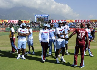 The West Indies cut their tour of India short in October last year