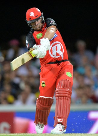 Finch was named Man of the Match for his spectacular innings of 65