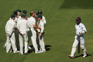 Australia carved through West Indies' batting line-up