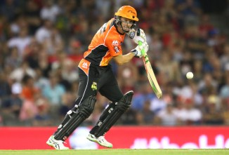 Klinger was named Man of the Match for his magnificent innings of 90 not out