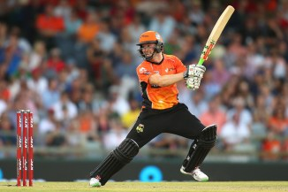 Klinger hammered four boundaries and a six during his unbeaten knock of 53