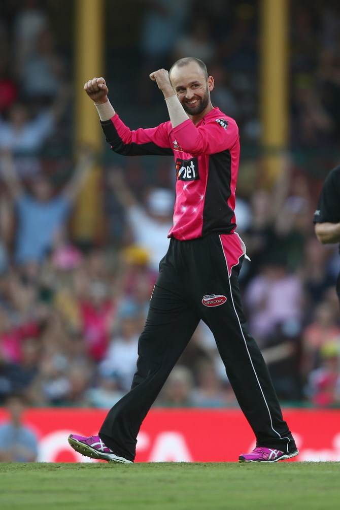 Lyon finished with figures of 5-23 off 3.5 overs