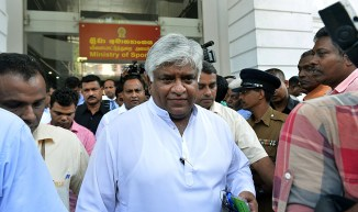Arjuna Ranatunga failed in his bid to secure one of the two vice-president posts