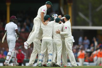 Australia hold the upper hand heading into the second day