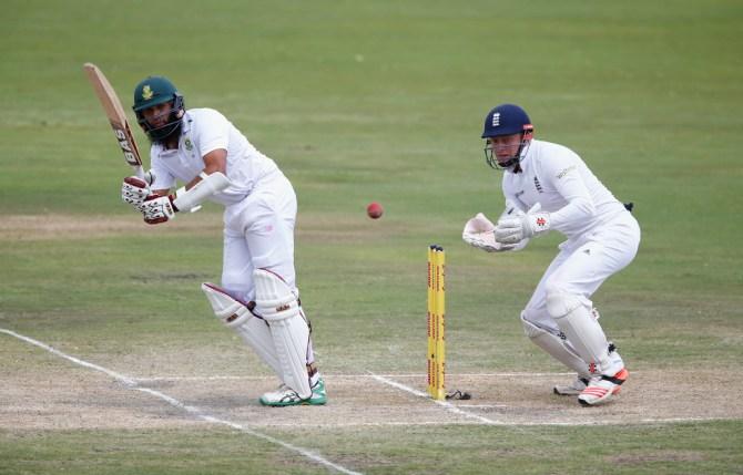 Amla fell four agonising runs short of his 25th Test century
