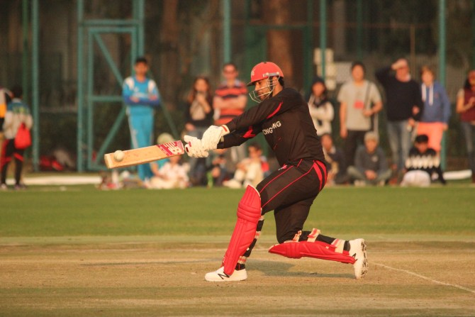 Hayat was named Man of the Match for his quickfire innings of 26 not out