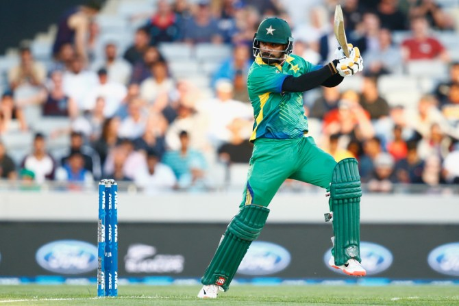 Hafeez scored his eighth Twenty20 International fifty