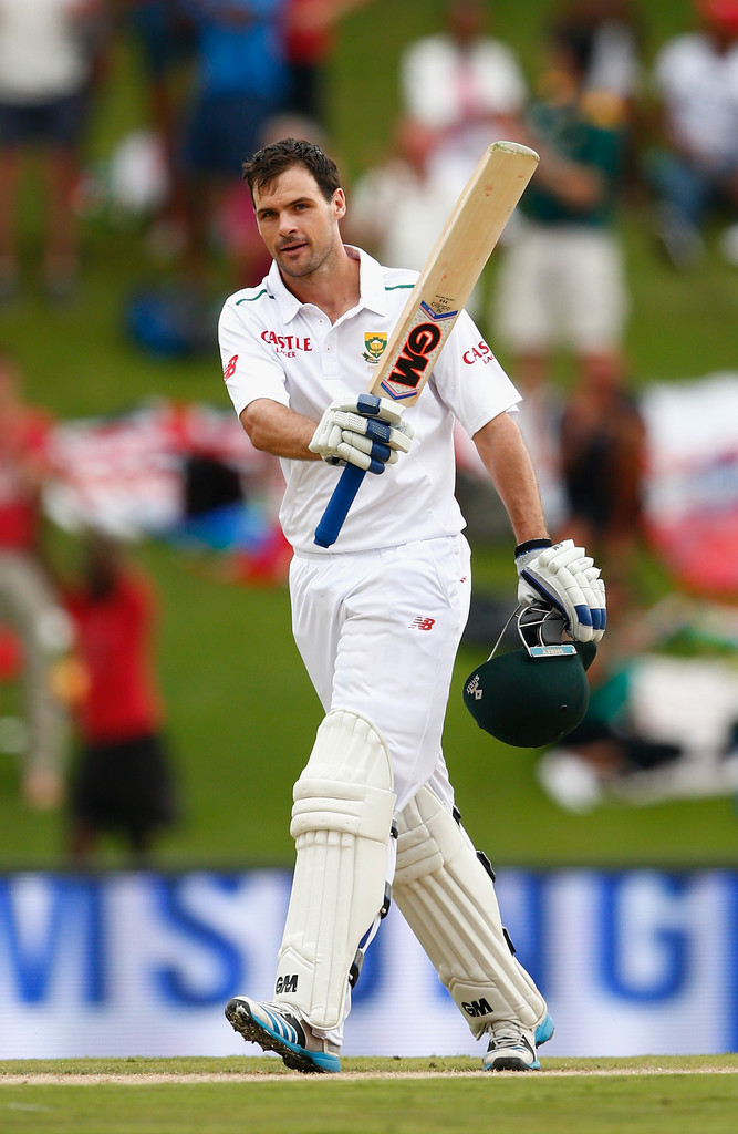 Cook became just the sixth South African batsman to score a Test century on debut