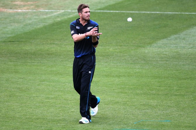 Southee will not play in the upcoming ODI series against Australia