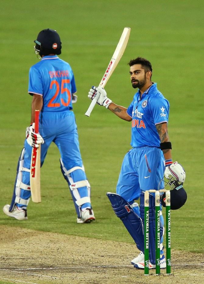 Kohli's 25th ODI century went in vain