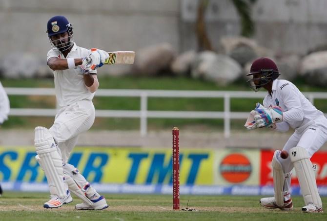 Rahul struck 10 boundaries during his unbeaten knock of 75