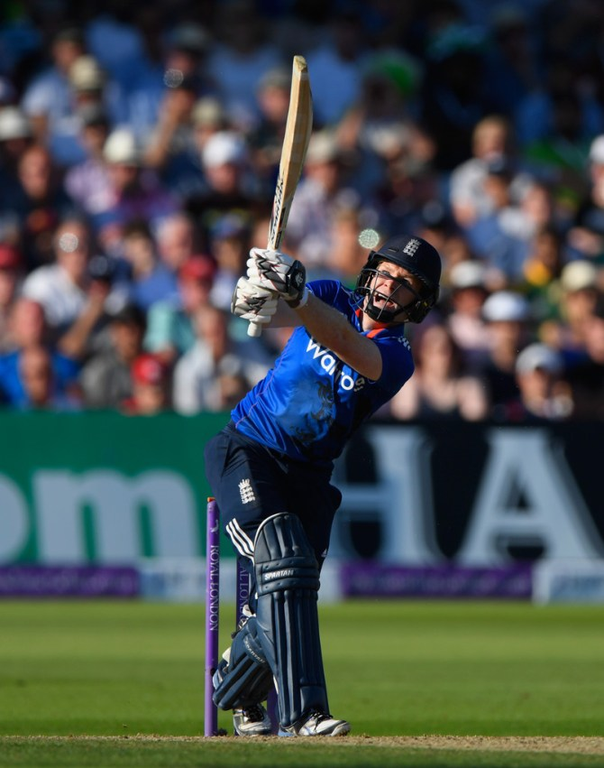 Morgan struck three boundaries and five sixes during his unbeaten knock of 57