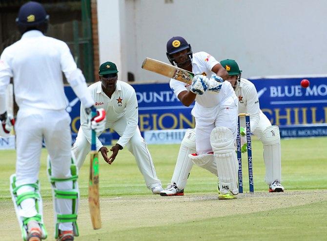 Gunaratne made a half-century on debut