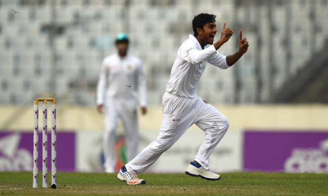 Mehedi finished with figures of 6-77 off 21.3 overs