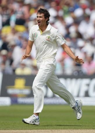 Agar hasn't played Test cricket since July 2013