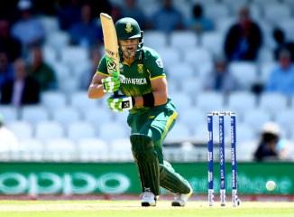Faf du Plessis South Africa cricket