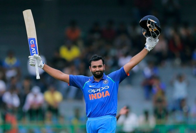 Rohit Sharma century India Sri Lanka cricket