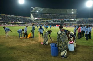 India Australia abandoned wet outfield cricket