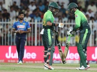 Babar Azam Shoaib Malik fifty Pakistan Sri Lanka cricket