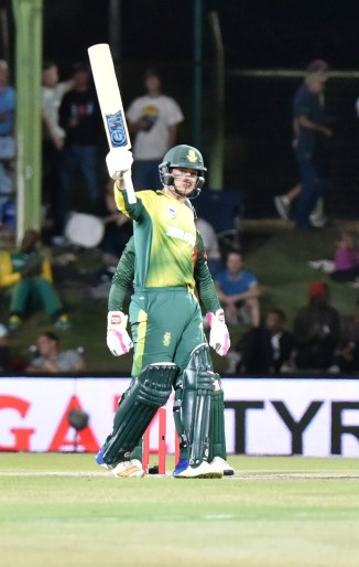 Quinton de Kock 59 South Africa Bangladesh cricket