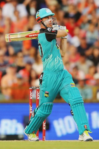 Chris Lynn Brisbane Heat BBL cricket