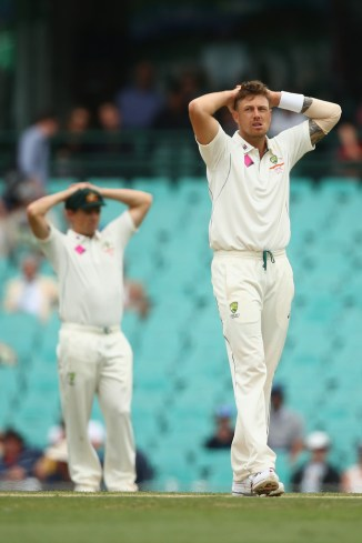 James Pattinson Australia Ashes cricket