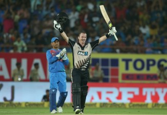 Colin Munro hundred New Zealand India cricket