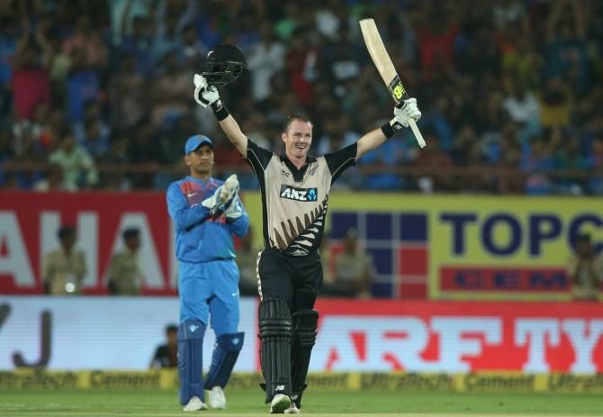 Colin Munro hundred New Zealand India cricket
