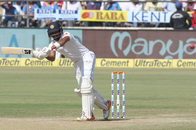 Dinesh Chandimal fifty India Sri Lanka cricket