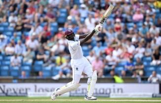 Jason Holder hundred West Indies Zimbabwe cricket