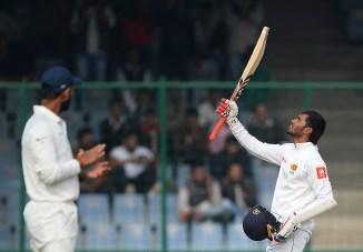 Dhananjaya de Silva century Sri Lanka India cricket