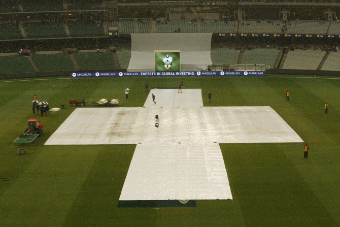 Australia England Ashes rain cricket