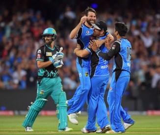 Michael Neser Adelaide Strikers Brisbane Heat BBL cricket