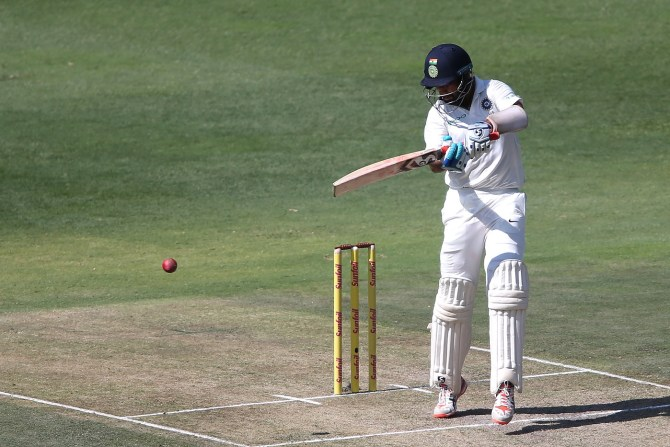 Cheteshwar Pujara fifty South Africa India 3rd Test 1st Day Johannesburg cricket