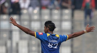 Sri Lanka Bangladesh 10 wickets qualify final ODI tri-series cricket