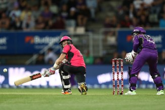 Sam Billings 61 Hobart Hurricanes Sydney Sixers BBL cricket