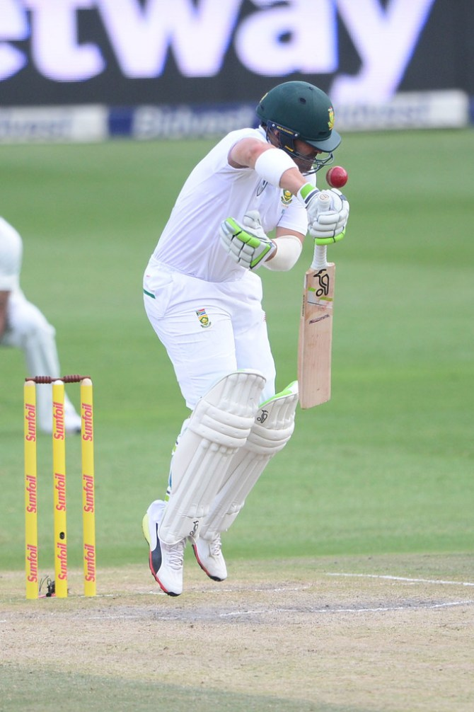 Dean Elgar third Test called off South Africa India cricket