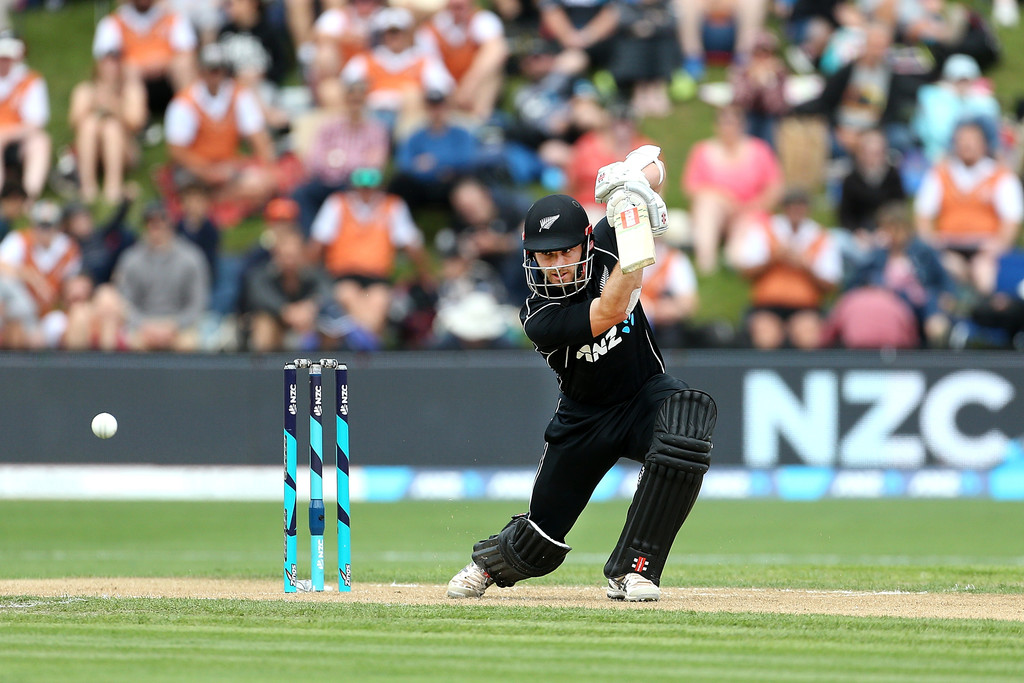 Kane Williamson fifty New Zealand Pakistan ODI cricket