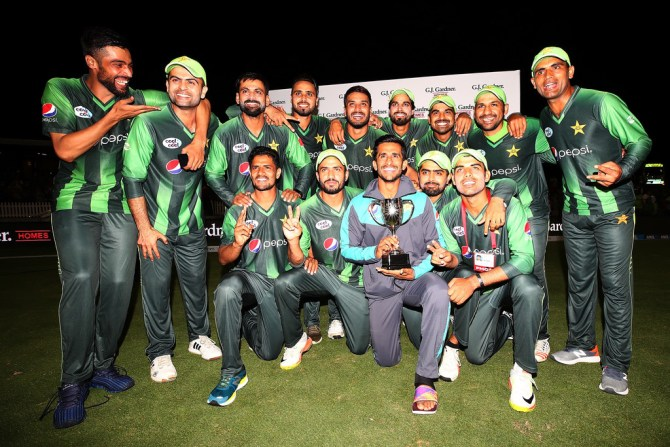 Pakistan win series 2-1 number one ranked T20 team New Zealand cricket