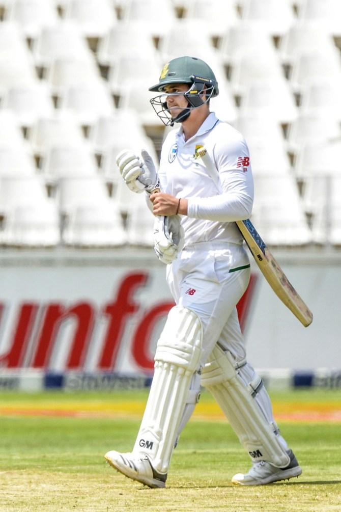 Faf du Plessis Quinton de Kock batting slump South Africa India Australia Test series cricket