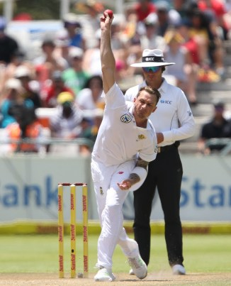 Dale Steyn tissue damage left heel injury South Africa India cricket