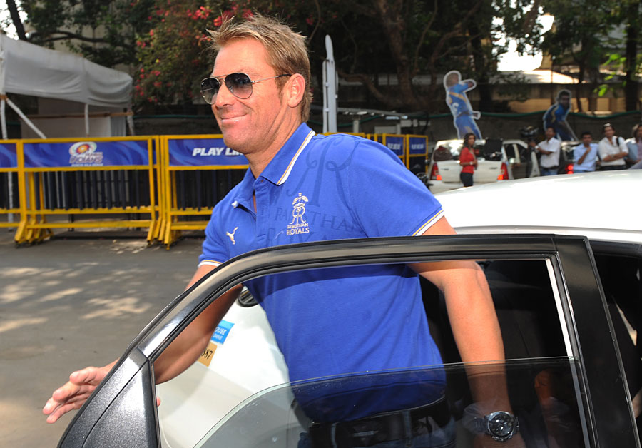 Shane Warne back as Royals mentor