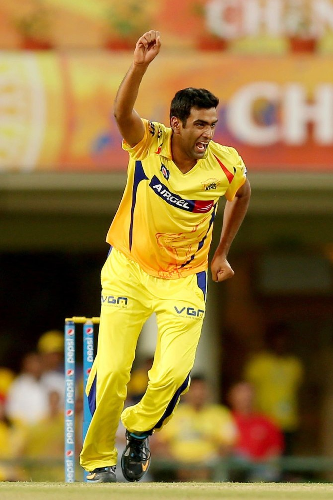 Ravichandran Ashwin Kings XI Punjab Chennai Super Kings Indian Premier League IPL cricket