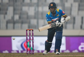 Angelo Mathews hamstring injury aiming return Nidahas Trophy Sri Lanka India Bangladesh cricket