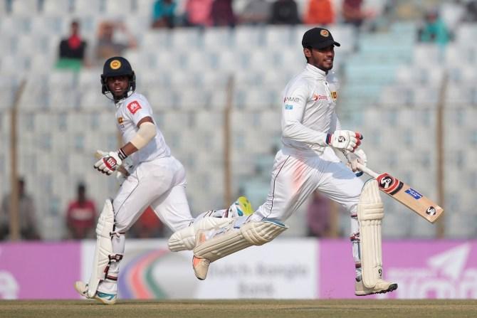 Dhananjaya de Silva 104 Kusal Mendis 83 Bangladesh Sri Lanka 1st Test Day 2 cricket